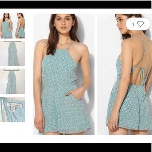URBAN OUTFITTERS LUCCA COUTURE AQUA FLORAL…
